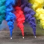 Купить цветной дым, фаеры