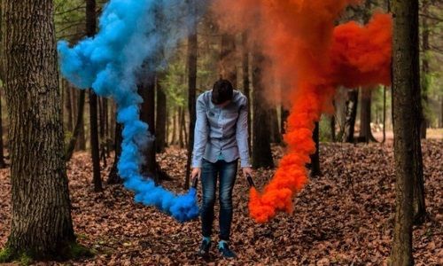 Цветной дым с доставкой в Минске, фото и видео цветного дыма в Минске. Акции и скидки на нашем сайте! Осуществляем доставку в пределах МКАД. Фото №2