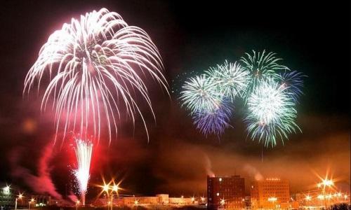 Салют на новый год заказать в Минске