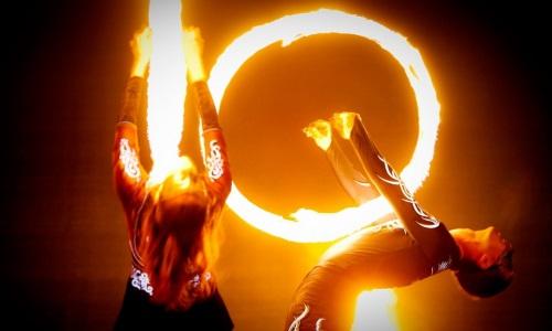 Огненное шоу в Минске